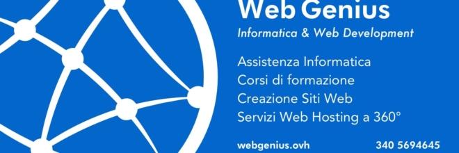 Nasce Web Genius