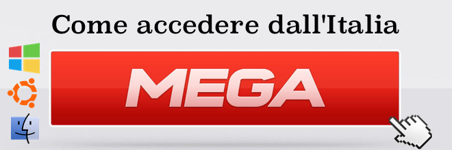 Come accedere a Mega.co.nz dall'Italia