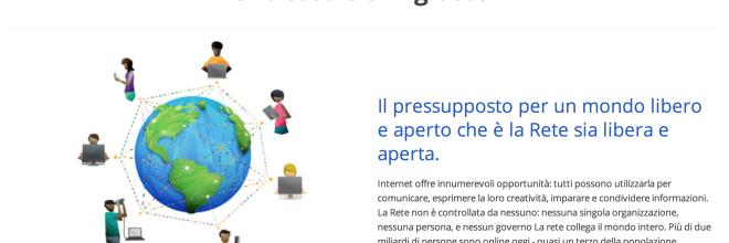Google si schiera contro i governi che vogliono monopolizzare internet