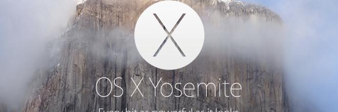 OS X Yosemite: prova intensiva